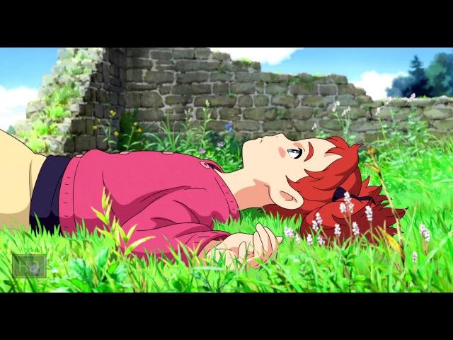 Трейлер Мэри и Цветок Ведьмы Meari to majo no hana 2017