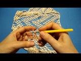 Вязание крючком. Как связать жилет японским ажуром. МК по узору