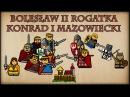 Historia Na Szybko Bolesław II Rogatka Konrad I Mazowiecki Historia Polski 37 1241 1243