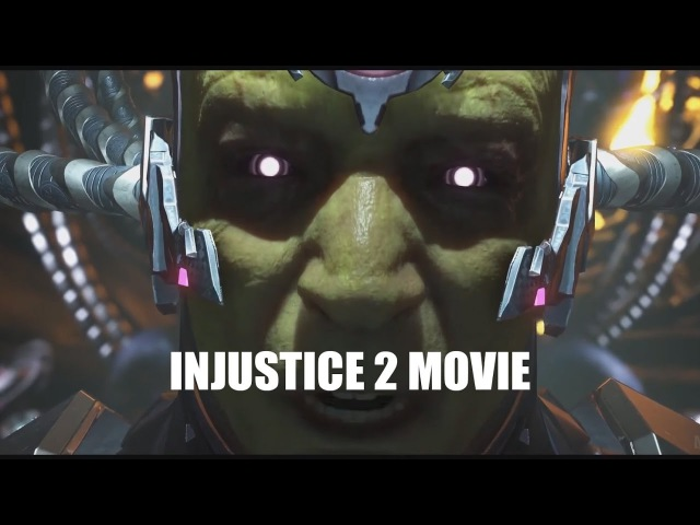Injustice 2 FULL Story (Awesome cutscene movie) All Fights deleted mode. Все ролики