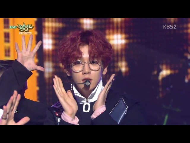 EXO-CBX (첸백시)_Comeback Stage 'The One'_KBS MUSIC BANK_2016.11.04