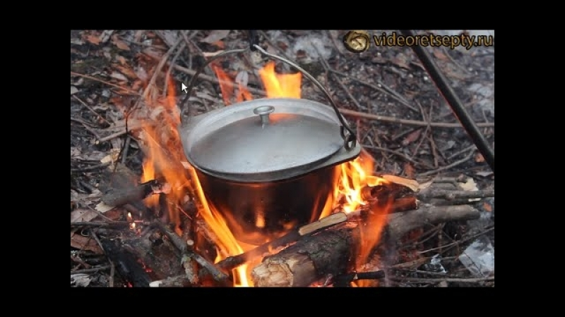 Рыбацкий суп из говяжьей тушенки