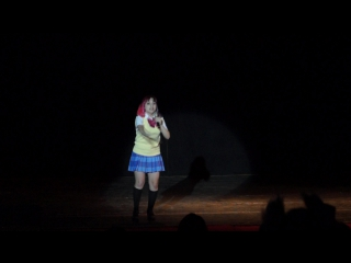 КАРАОКЕ НОВИЧКИ - Amai Lily - Someday of my life, исполнитель Kousaka Honoka (CV Nitta Emi) Тогучи 2017