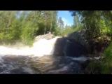 Карелия, водопад на р. Койриноя