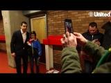 Мхитарян после игры с Уотфордом встретился с некоторыми читателями Inside United. Top man, Henrikh! #MUFC