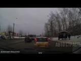 АвтоСтрасть - Подборка аварий и дтп 549 Январь 2017