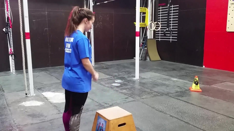Техника Прыжки на тумбу BAZOOKA UralStrong