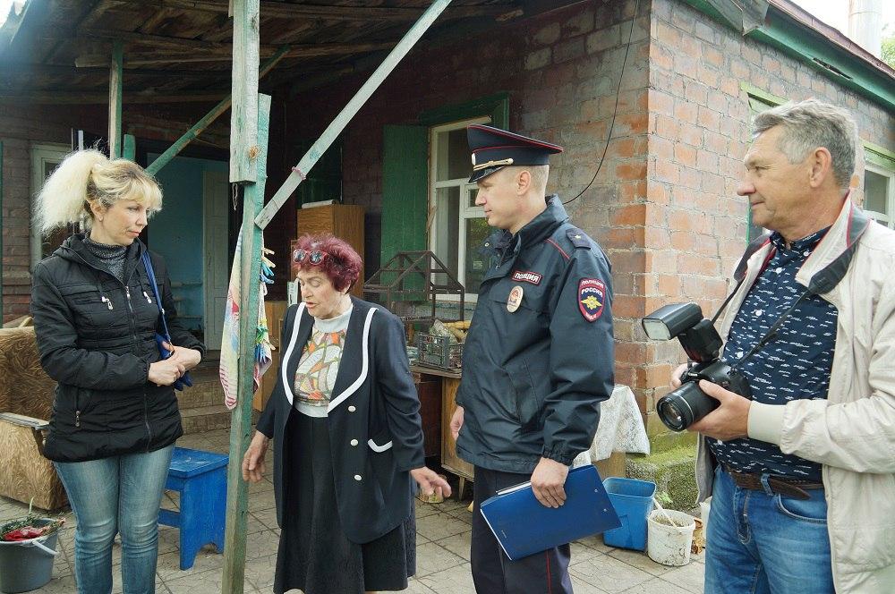 В Таганроге журналисты и представители общественного совета заступили на дежурство со старшим участковым