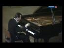 Михаил Плетнёв играет 21-ю сонату Бетховена и 12-ю Венгерскую рапсодию Листа - аналоговый ТВ-рип