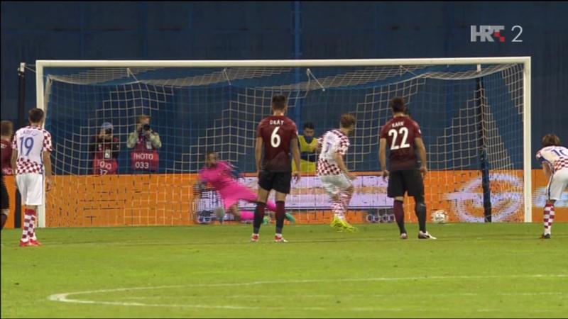 Hrvatska - Turska 1-1, I. Rakitic (1-0, pen., 44), 05.09.2016. HD