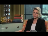 Kristen Stewart talks about one of her acting idols, Jodie Foster