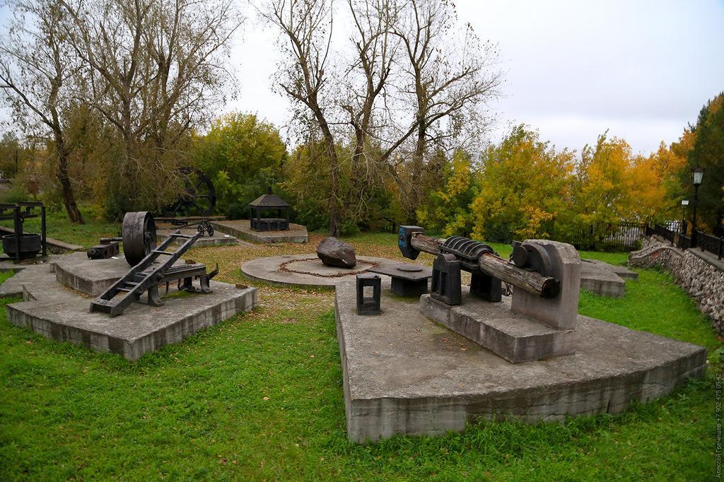 Памятник горнозаводского оборудования