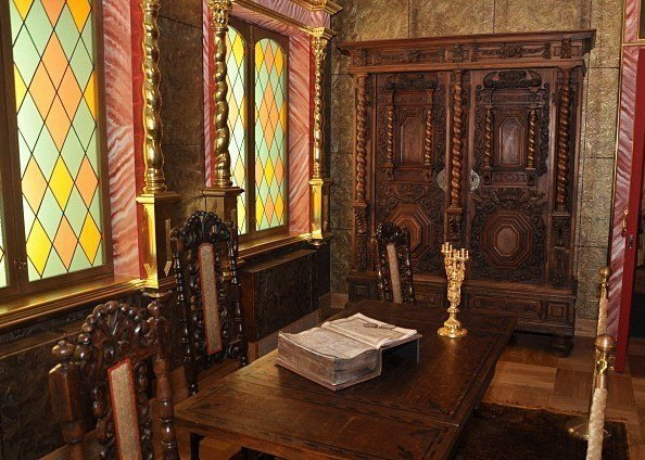 Кабинет царя Алексея Михайловича в Коломенскм дворце