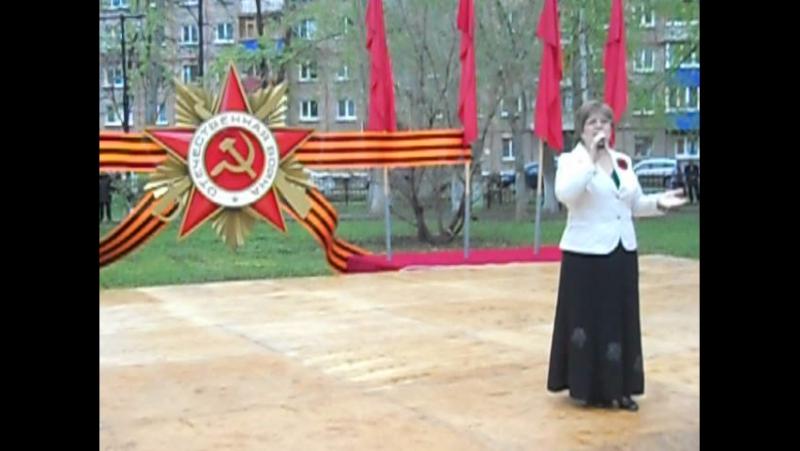 Тамара Котлакова В старом саду - 9 мая 2017г. Выступление перед ветеранами ВОВ.