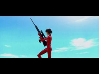 О-Рен Ишии. Фрагмент аниме вставки из к/ф «Убить Билла»