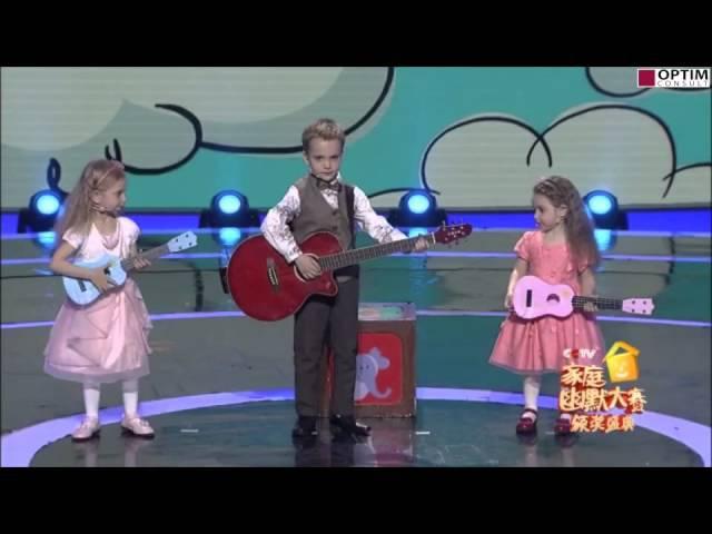 6-лет Гордей К. выиграл шоу талантов на ЦТТВ Китая!