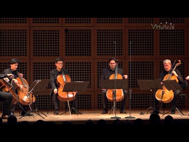 CelloVirtuoSix spielt Der Mann mit der Harmonica