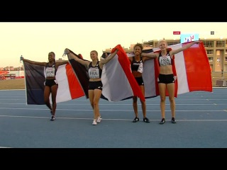 European Athletics Youth Champs Tbilisi 2016 FINAL Meddley Relay Girls [FULL HD]