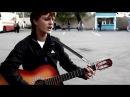 Парень классно поет и играет на гитаре, дворовые песни, песни под гитару, душевн