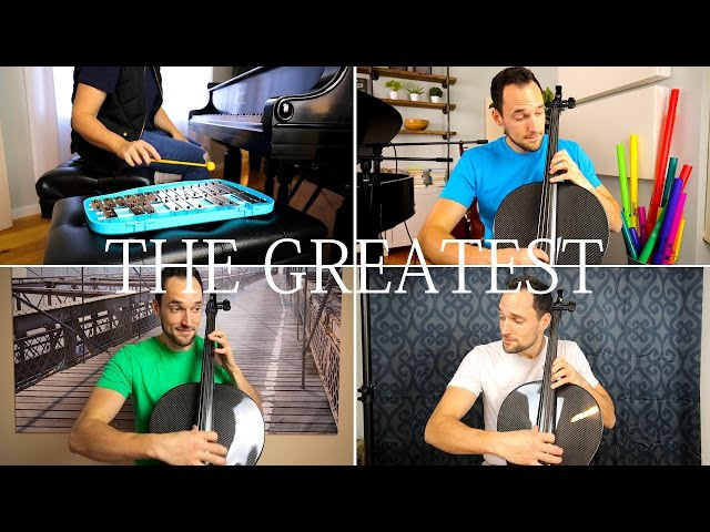 Sia - The Greatest (Cello Piano Cover) - Brooklyn Duo