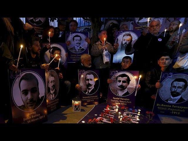 Шествие в Ереване: Мы требуем, чтобы Турция признала геноцид армян