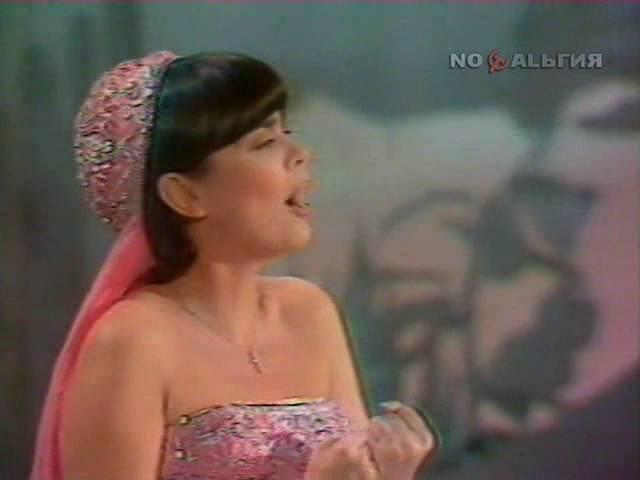 Поёт Мирей Матье 1979 г (СССР Франция)