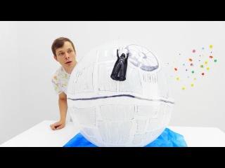 Звездные войны (STAR WARS)! Видео для мальчиков: ДАРТ ВЕЙДЕР строит ЗВЕЗДУ СМЕРТИ!