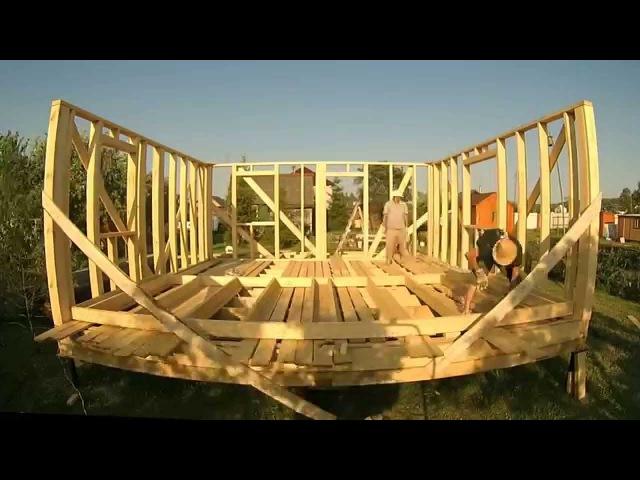 ч.4 Каркасный дом 6 на 6 своими руками (поднимаем каркасные стены) x.4 rfhrfcysq ljv 6 yf 6 cdjbvb herfvb (gjlybvftv rfhrfcyst