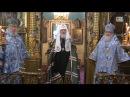 Слово Патриарха после Литургии в день 100-летия обретения Державной иконы Божией Матери
