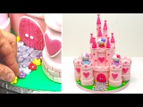 [vk.com/LakomkaMKvideo] Hello Kitty Princess Castle Cake - How To Make