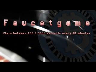 BITCOIN FAUCET *FAUCETGAME* 250 TO 5000 SATOSHI EVERY 60 MINUTES (WITHDRAWALAUDIOSCREEN)