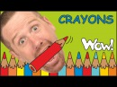 Crayons Magic for Children | English Stories for Kids | Steve and Maggie from Wow English TV