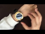 NO.1 G3+ Round Smart watch with Rotatable bezel