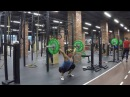 Evstyukhina Nadi - muscule snatchsquats over head press behind head snatch grip in squat