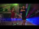 Зажигательный танец русских девушек на Новогоднем корпоративе ! Russian girls dance 2016