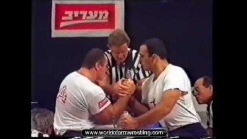 Заур Цхададзе - Чемпион мира по армрестлингу 1994