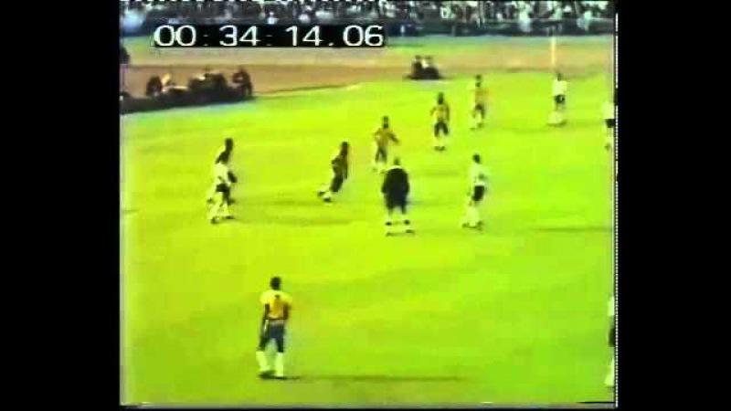 Brasil 1 x 2 Alemanha Ocidental - Jogo Completo - Amistoso 1968 - Jogos Históricos 73