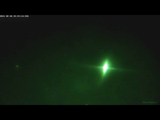 Наблюдение МКС с помощью ПНВ Юкон Экселон 4х50