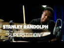 Stanley Randolph How To Play Superstition Drum Lesson DRUMEO