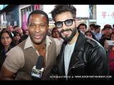 Richard Olivier Jr. backstage Interview with celebrity actor: Karan Tacker!
