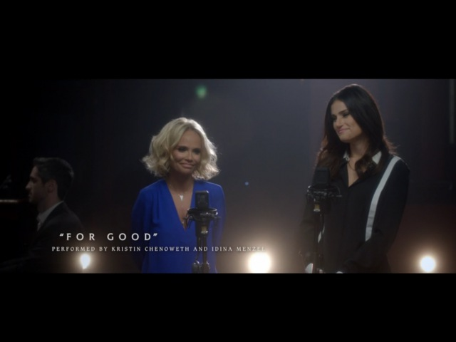 OutOfOz For Good Performed by Kristin Chenoweth and Idina Menzel | WICKED the Musical
