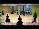 20150714 B01 Kendo Japan SuburiPractice swing Kendo Dojo Gotemba Shizuoka Japan Practice scene
