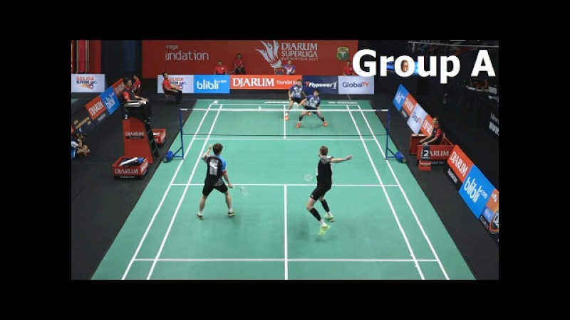 BADMINTON 2017 DJARUM SUPERLIGA | Lee Yong Dae Vladimir Ivanov vs Sabar Karyaman G. Franky Wijaya P.