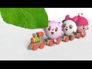 Умные песенки для самых маленьких Малышарики - Зелёный музыкальные мультики для самых маленьких