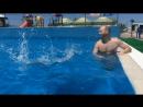 Наш сын научился плавать!🏊