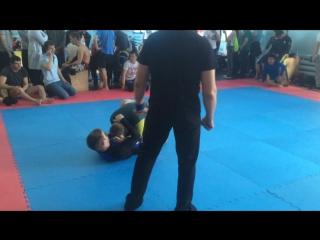 Моя первая дисквалификация submission wrestling grap&drag