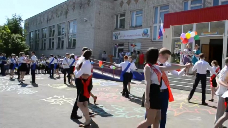 МКОУ Архиповская СОШ Школьный вальс 2016г. (последний звонок 25.05.16)