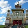 Калмыкия: Друзья, тюльпаны, буддизм, лотосы