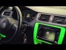 Volkswagen MKVI Jetta Wrapped in Hexis Gloss Kiwi Green on 18 MRR GT1 Wheels R