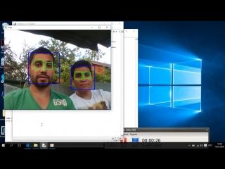 Сделал программу  с распознаванием образов в потоковом видео